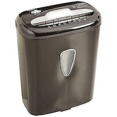 AmazonBasics 6-Sheet High-Security Micro-Cut Paper and Credit Card Shredder New