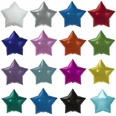 """20"""" Star Shaped Balloons Birthday Party Wedding Decorations Helium Foil Baloons"""