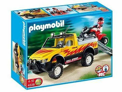 "PLAYMOBIL® City Life 4228 ""Pick-Up mit Racing Quad"" NEU & OVP!"