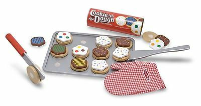 New Melissa & Doug Slice and Bake Wooden Cookie Play Food Set