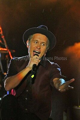 Mark Owen performing live with Take That photograph picture print poster photo