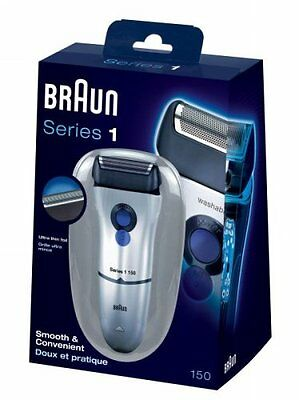 Braun 150-1 Electric Rechargeable Mens Precision Smart Shaver *2 Year Warranty*
