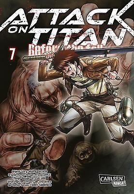 Attack on Titan: Before the Fall 7 - Carlsen Manga - VORBESTELLUNG/ET:28.02.17
