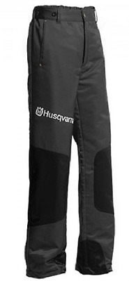 Husqvarna Classic Chainsaw Safety Trousers Black 5781654xx New