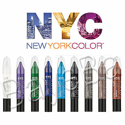 NYC Waterproof City Proof 24HR Eyeshadow Crayon ~ Fat Chubby Chunky Pencil