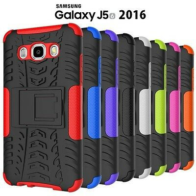 Heavy Duty Tough Strong Case Cover For Samsung Galaxy J56 2016 / J5 2016