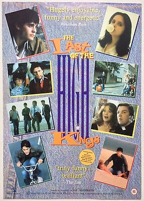 The Last Of The High Kings / Original Vintage Video Film Poster / Jared Leto 5