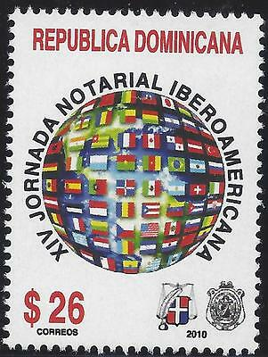 DOMINICAN XIV IBEROAMERICAN NOTARIES MEETING Sc 1481 MNH 2010