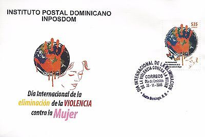 Dominican Republic Elimination of Violence against Women Sc 1583 FDC 2015
