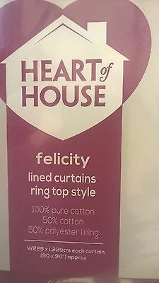 Felicity Curtains 90 Inch X 90 Inch   Bulk 10 Pairs