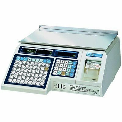 CAS LP1000N Label Printing Scale & Free Labels