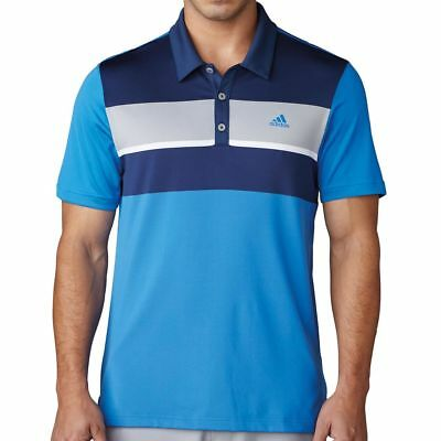 Adidas Climacool Chest Block Golf Polo Shirt