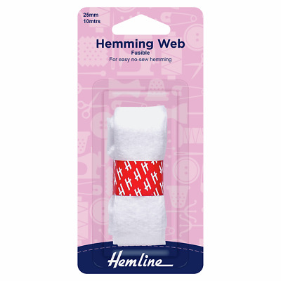 Hemming Web to quickly and easily fuse hems with no sewing - 10m x 25m
