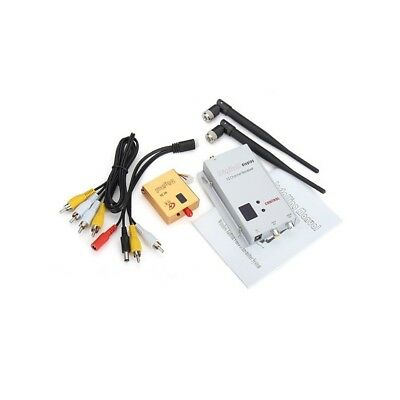 Partom FPV 1.2G 1.3G 8CH 800mw Wireless AV Transmitter And Receiver