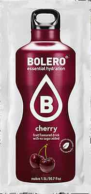 New Bolero, Cherry. Sugar free. Hiking diabetic instant drink sachet