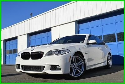 2013 BMW 5-Series 535i xDrive AWD M-Sport MSport Excellent Save Big Premium Pkg Cold Pkg Sport Comfort Seats Lane Keeping naviagtion Leather Loaded