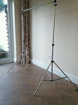 Manfrotto 1314B 9ft wide Background Stand Support Set in Travel Case with Clamps
