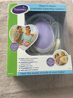 Heart To Heart Pre-Natal Listening System - Maternity Pregnancy