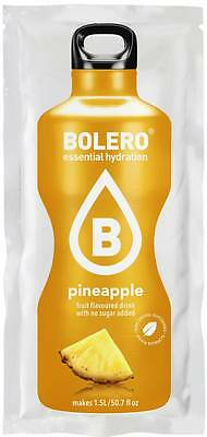 New Bolero, Pineapple. Sugar free. Hiking diabetic instant drink sachet