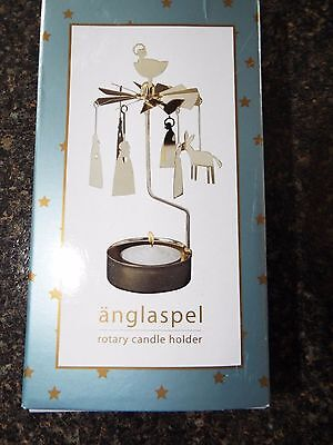 Pluto Produkter Rotary Candle holder, Nativity,Christmas,Motion, New!