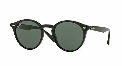 Ray-Ban RB2180 601/71 Black Frame Green Classic 49mm Lens Sunglasses