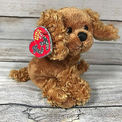 Frolics Ty Beanie Baby 2.0 Unused Code With Tags Dog Puppy Spaniel 6 Inches