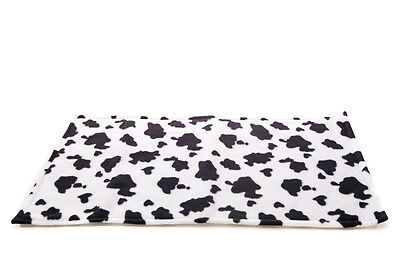 WATERPROOF Guinea Pig and small animal fleece cage liner Cow size 80x44cm