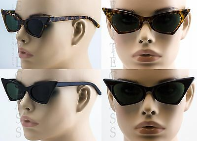Women's Black Cat Eye Sunglasses Retro Fashion Classic Glasses Vintage Shades