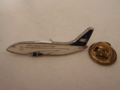 Pin Plane Airplane badge Aerolineas Argentina Airlines