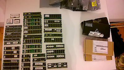 Joblot Of Various Memory Ram Flash Cisco Router