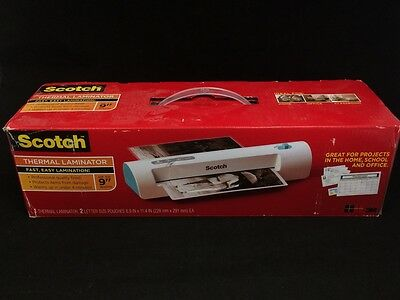 Scotch TL901C-T Thermal Laminator, 2 Roller System, Fast Warm-up (White)