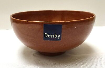 Denby Fire Rice/Fruit Bowl Paprika - Brand New - Discontinued Item