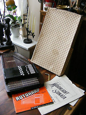 Vintage Musima 32 Strings Autoharp Auto Harp Markneukirchen Made in German