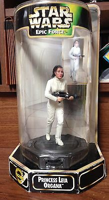 1998 Star Wars Epic Force Princess Leia Organa Action Figure MIP