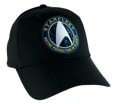 c8215a15ac Starfleet Enterprise Star Trek Hat Baseball Cap Alternative Clothing Cosplay