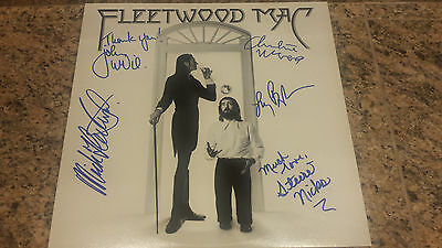 Fleetwood Mac signed autograph LP