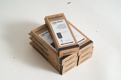 7x Pocket Wizard MSMM 804-609 Cable Adapter NEW IN BOX! (059)