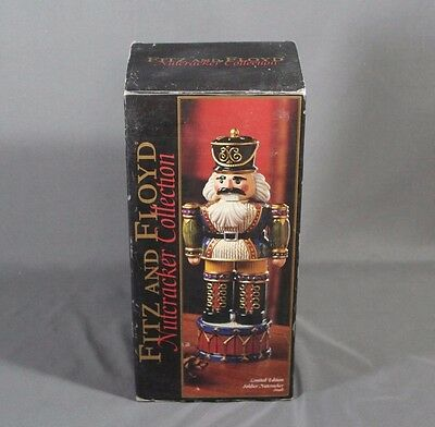 Mint Fitz & Floyd Limited Edition Soldier Nutcracker (Small) - Free Shipping