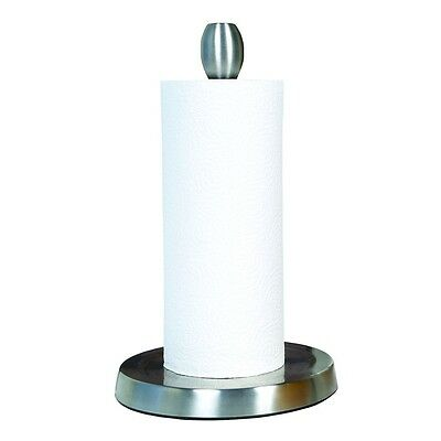 Stainless Steel One-Handed Paper Towel Holder