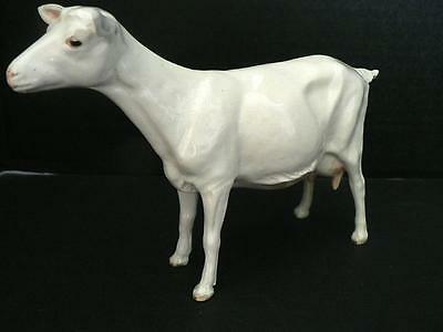 Rare Mint Condition Shebeg Isle Of Man White Goat Signed D Thomson