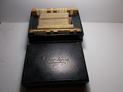 Antique Rubicon Bezique Playing Cards Set Luxury Markers A. Dougherty Usa Cards