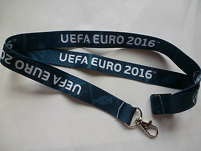 Used VIP lanyard of UEFA EURO 2016 for the VIP passes badges of all 51 matches