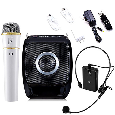 Winbridge S92 25 Watts Mini Portable Rechargeable Voice Amplifier Pa System with