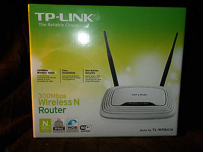 Router Neutro TP LINK TL-WR841 N Wireless N 300 Mbps