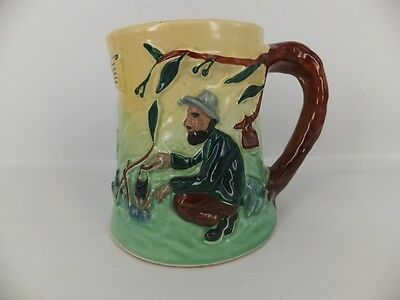 Diana Waltzing Matilda mug / tankard in yellow colourway