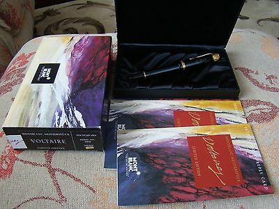 Montblanc Voltaire Limited Edition Fountain Pen Unused