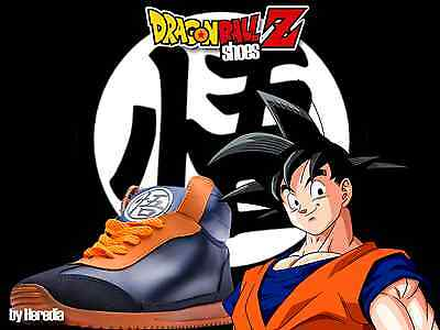 Authentic Dragon Ball Z Sneakers/Shoes GOKU Size Youth 18 (10.5./11 US Youth)