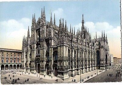 Postcard Italy,  Milan Cathedral 1955
