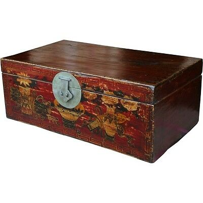 Chinese Chest -  Original Painted Antique (37-013)