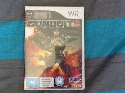 Conduit 2 limited edition. Rare wii game Brand new & sealed